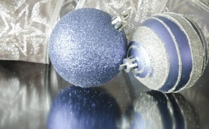Banded Balls Ornaments