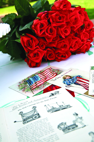 Holiday cards flowers and ephemera