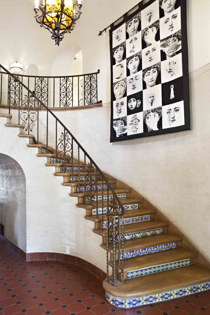 Romantic Vintage Global Staircase