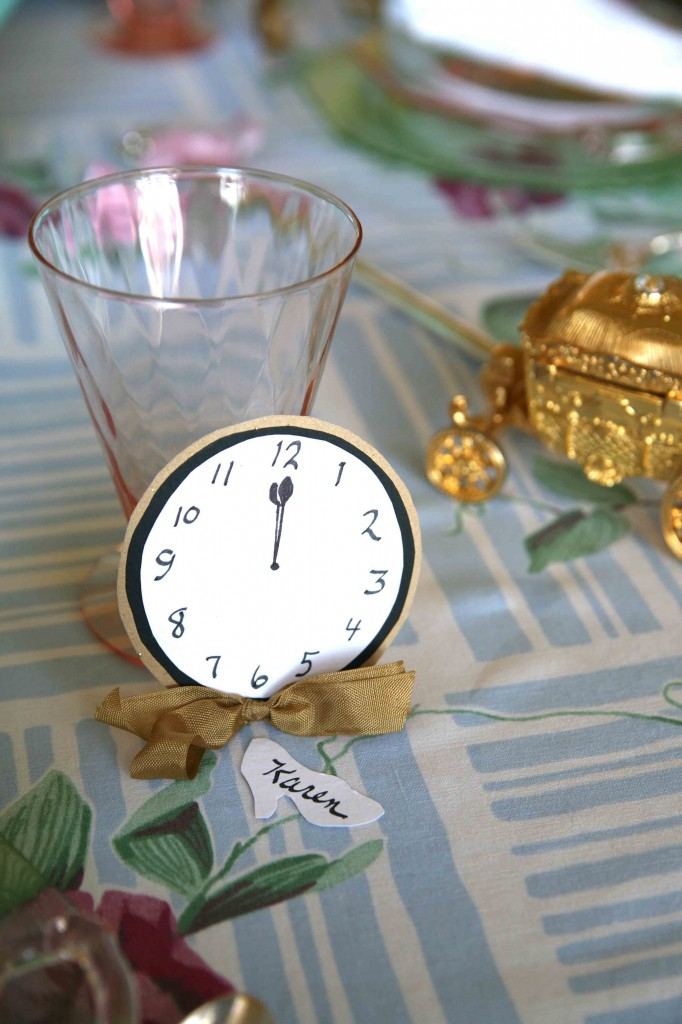 Romantic Princess Clock Table Decoration