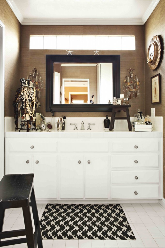 Romantic French Master Bathroom