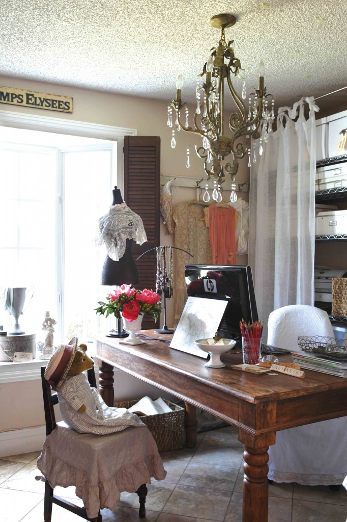 Romantic Home Office