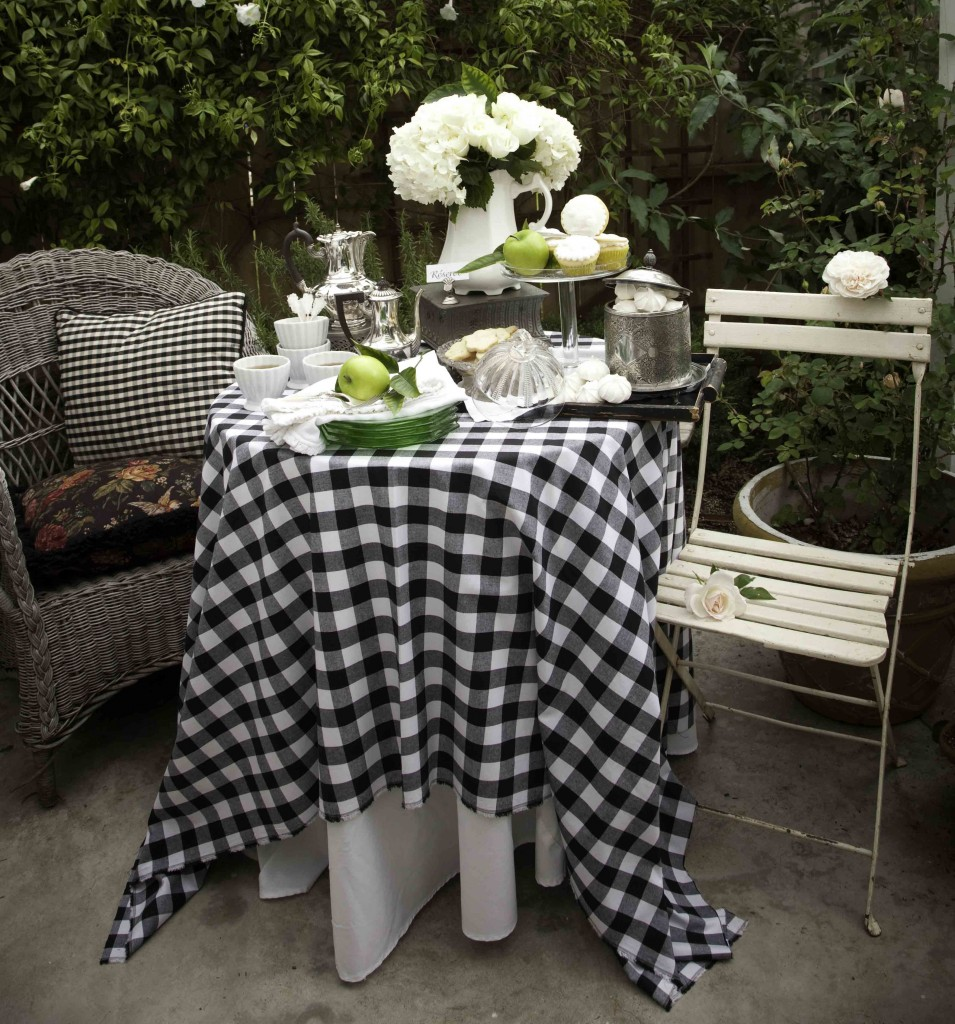 Romantic French Tea Table