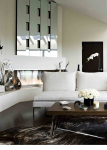 Romantic Modern Living Room Crop