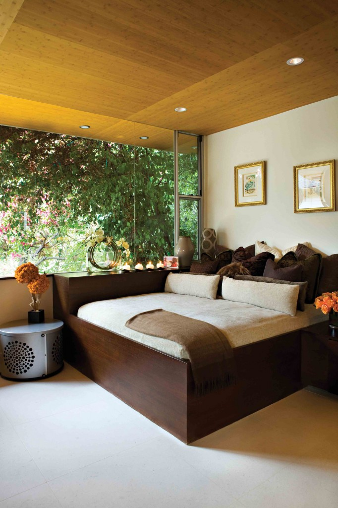 Romantic Modern Zen Master Bedroom