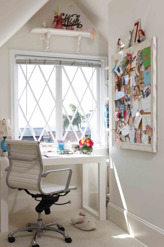 Romantic Style Home Office Space