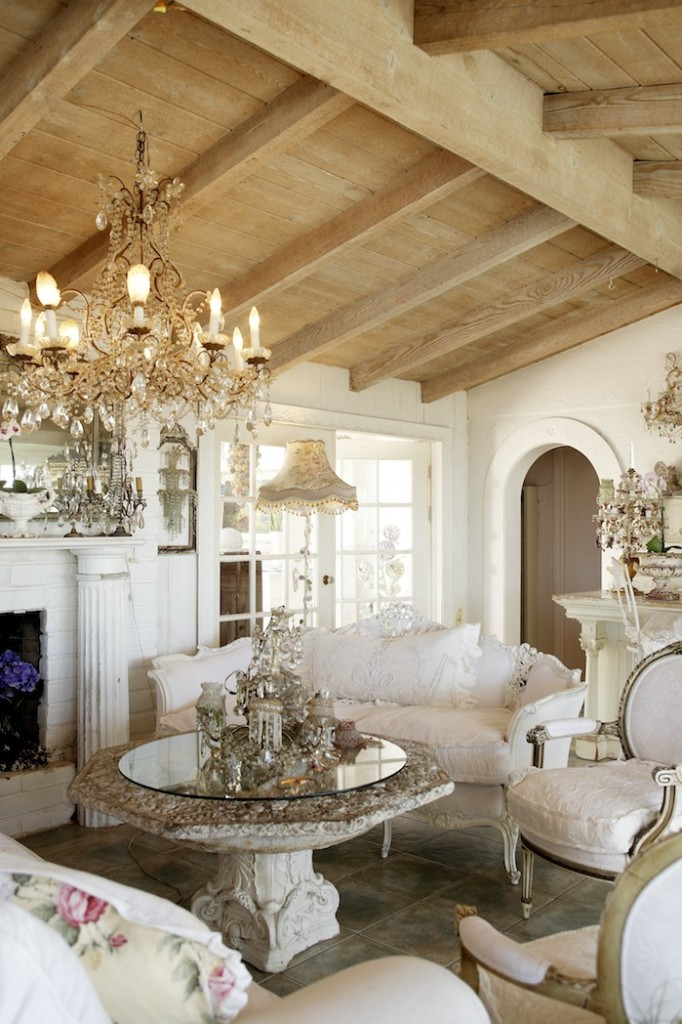 Glamorous living space