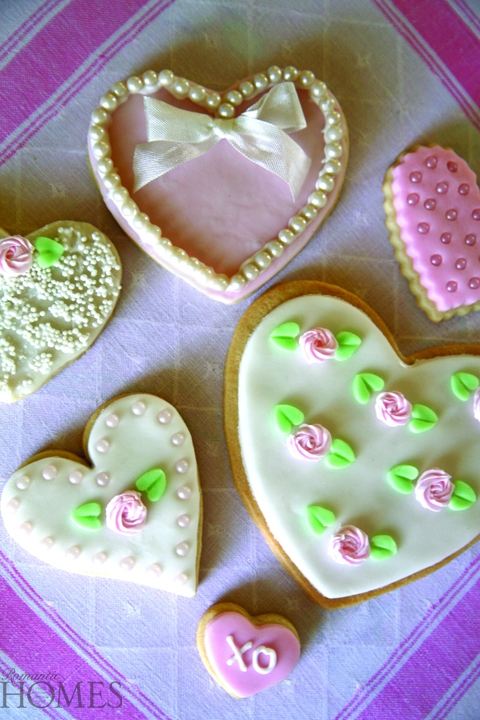 Valentines Day Sugar Cookie And Icing Glaze Recipe