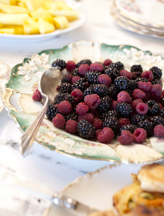 Plate Full of Berries