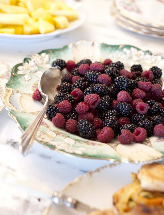 Plate Full of Berries