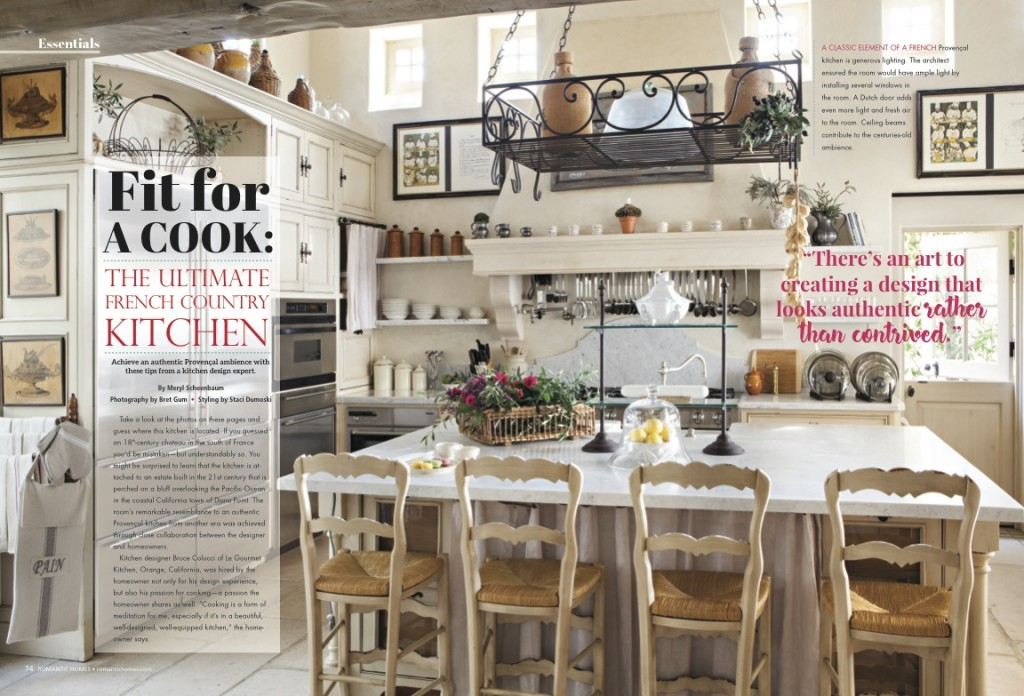 romantic-homes-april-2017-french-country-kitchen - Romantic Homes on french country house interiors, french country bedroom decorating ideas, french country breakfront, french country style bedding, french country buffet, tiny country kitchens designs, french country stencils, french country shabby chic, french country decor, french country landscaping, french country style kitchens, french country decorating style, french country walls, french country cottage, french country furniture, french country interior design, french country house exteriors, french country quilts, french country china cabinet, french country design ideas,