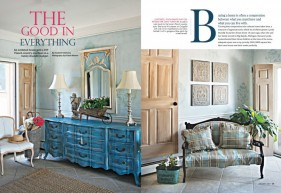 Romantic Homes January 2017 The  Good in Everything