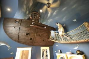 amazing pirate bedroom