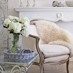Shabby Fufu white chair
