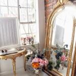 leaning floor mirror