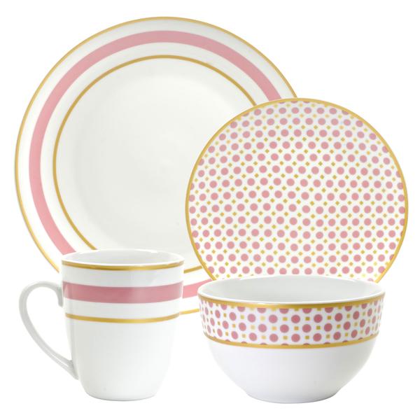 10-Strawberry-Street-Coral-16-piece-Dinnerware -Set-158bcb76-4a67-4e41-8516-824e32650997_600  sc 1 st  Romantic Homes & 10-Strawberry-Street-Coral-16-piece-Dinnerware-Set-158bcb76-4a67 ...