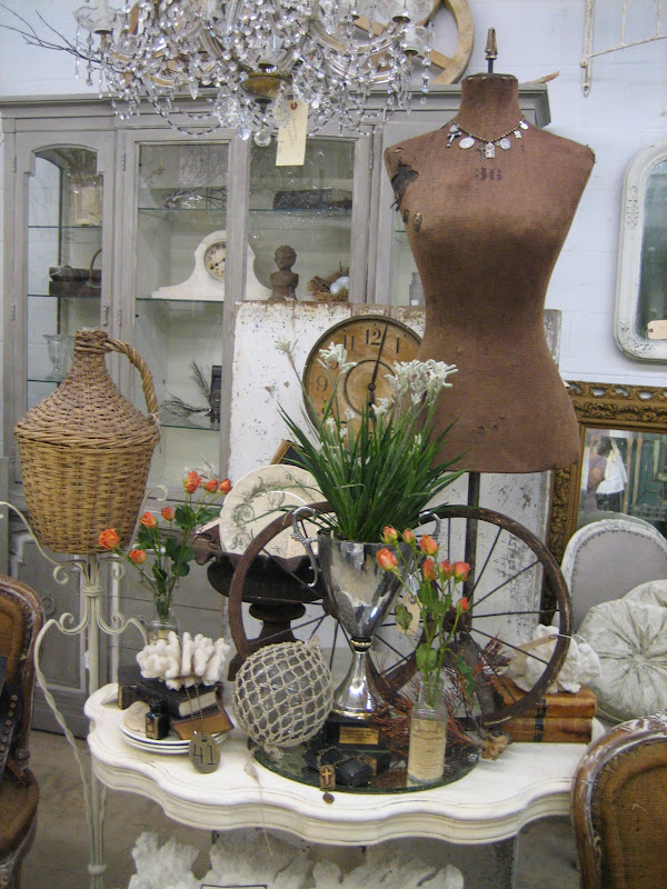 Add French antiques to your home for an elegant, romantic style.