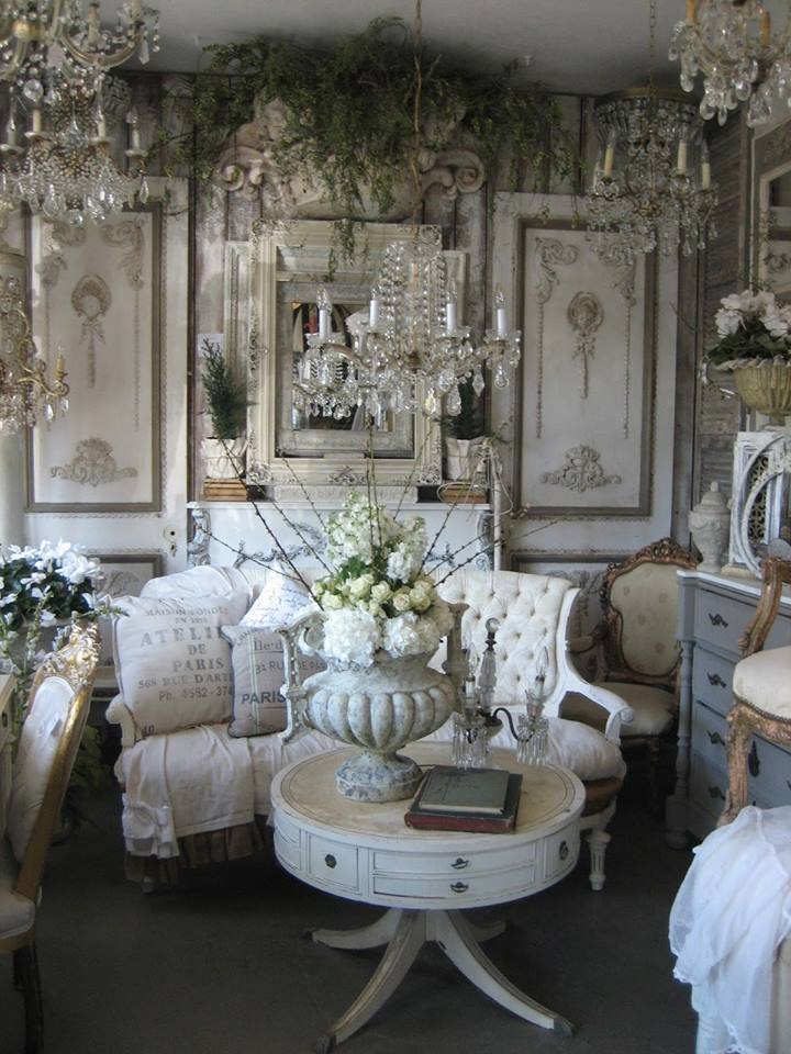 Add French elegance to your own home with vintage finds.