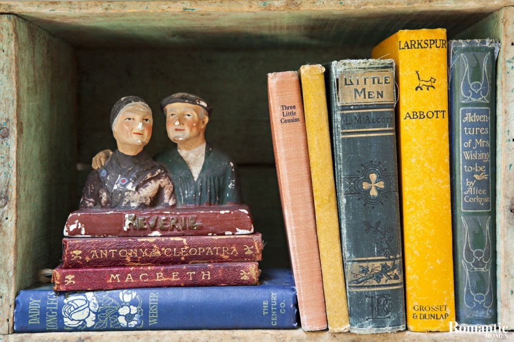 Start your own vintage book collection.