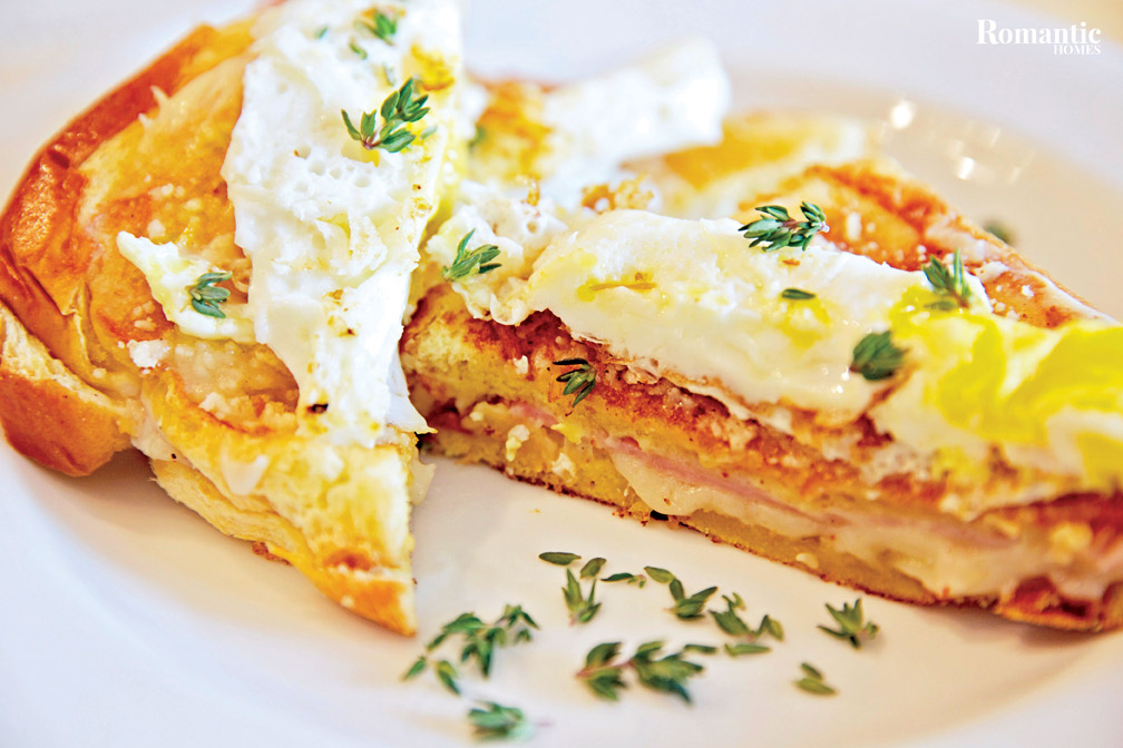 Croque Madame Sandwich