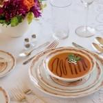 Pumpkin Soup Recipe from TaDa Transferware Etiquette in Fall Romantic Homes
