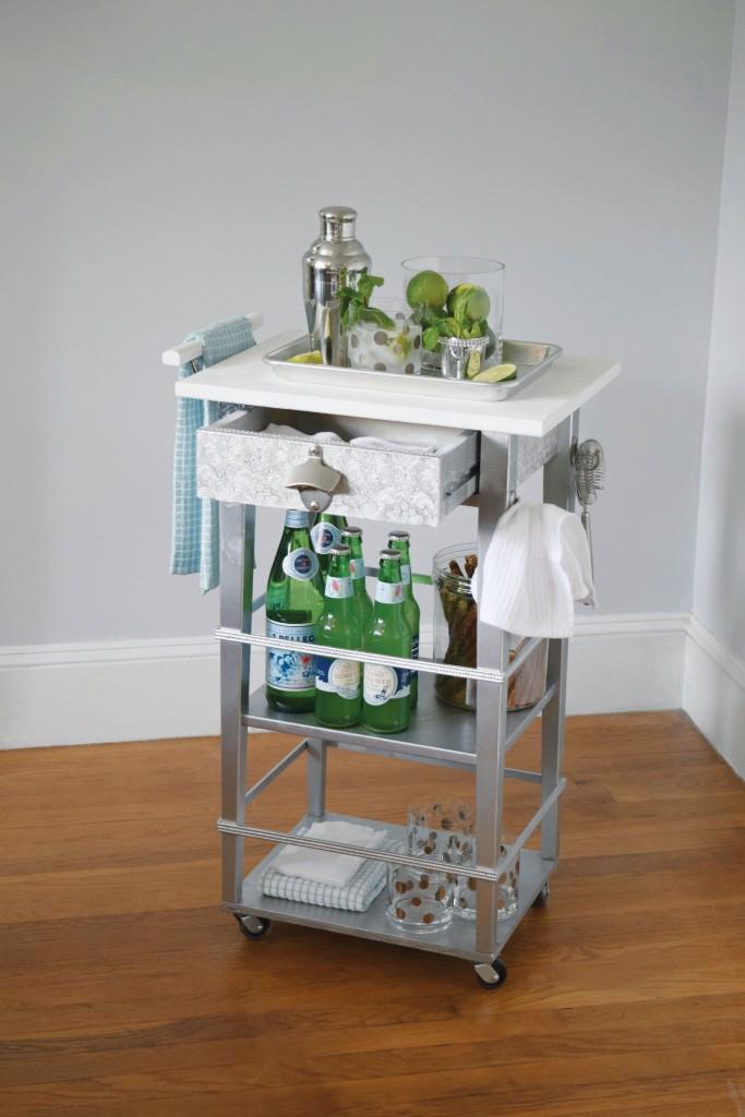 I Modify IKEA - bar cart