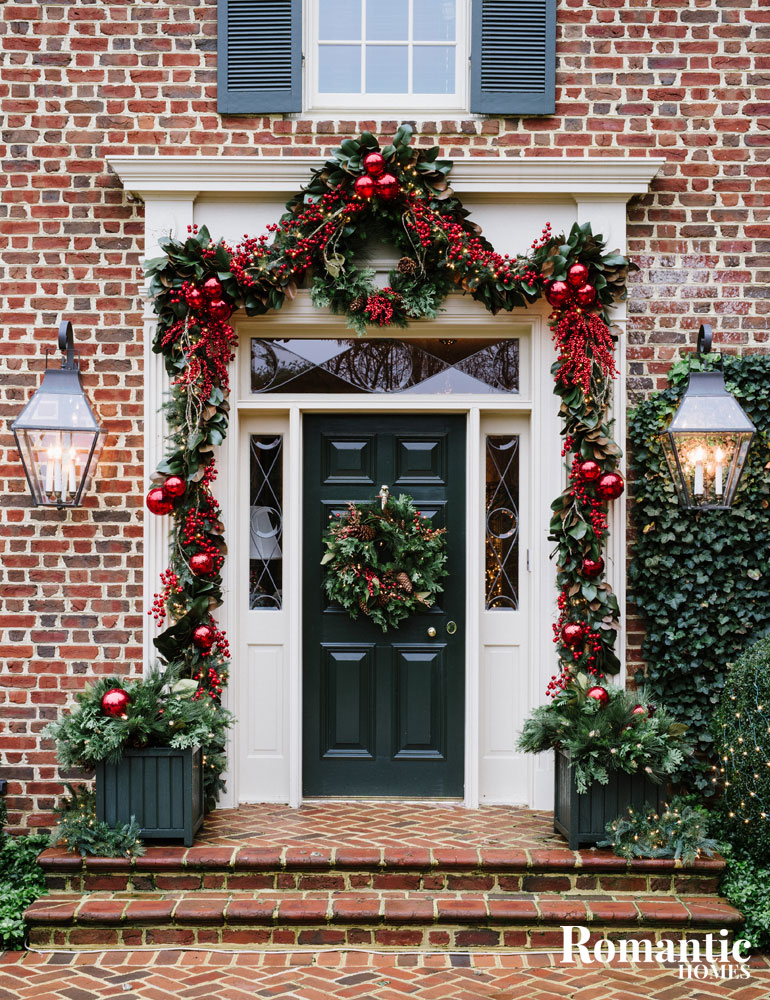 opulent christmas decor traditional home romantic homes