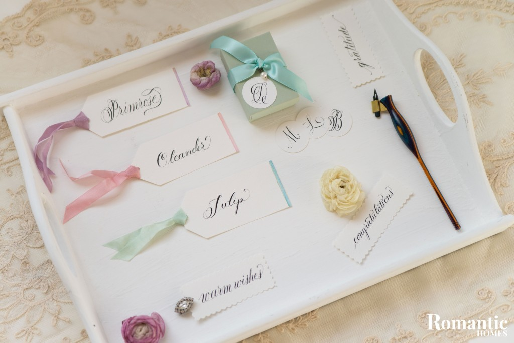 DIY tags tray