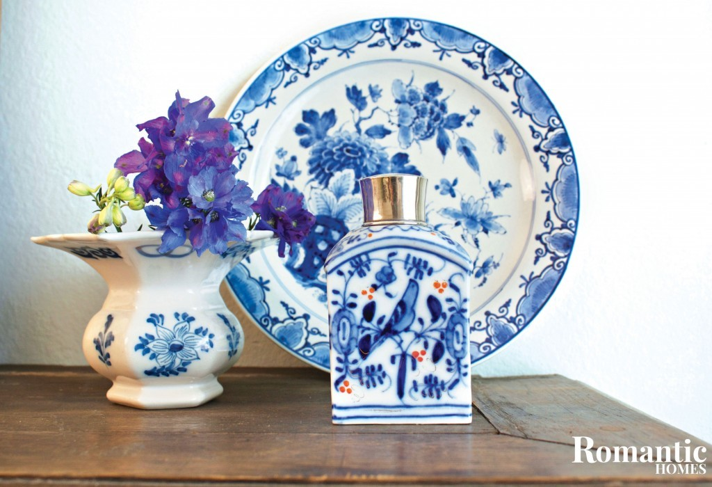 Blue and White Dutch Pottery