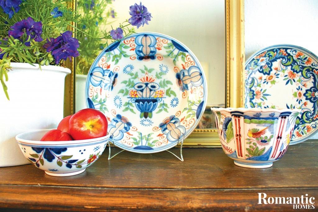 Colorful Dutch Pottery
