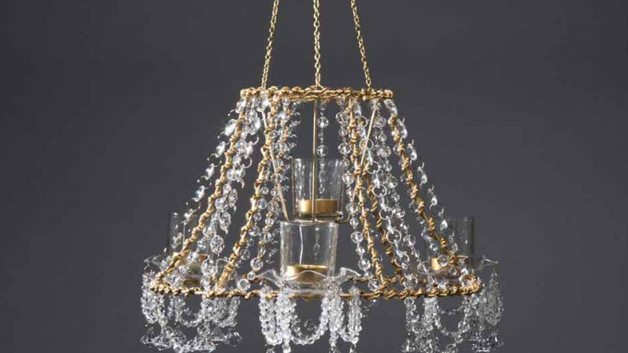 Image of: Make It Diy Crystal Chandelier Romantic Homes