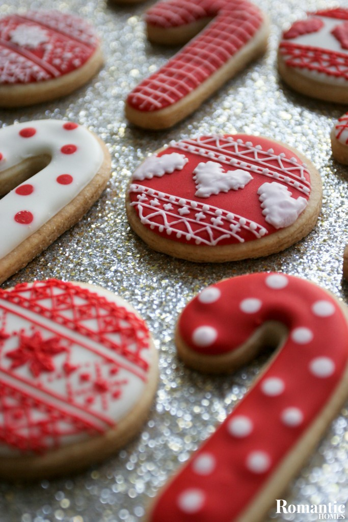 Royal Icing Holiday Cookies