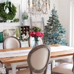 Shabby French Christmas table