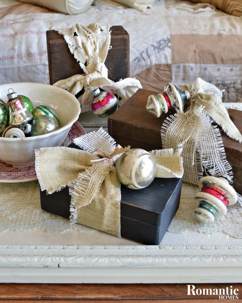 old boxes gift wrap