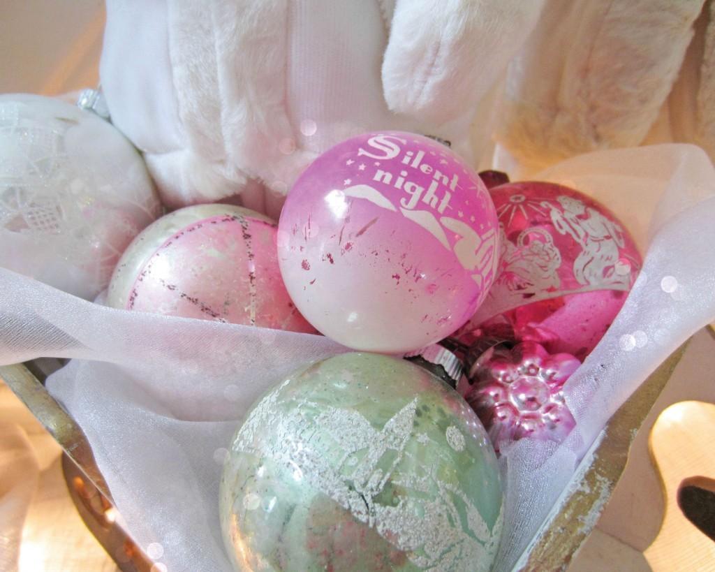 Shiny-brite ornaments