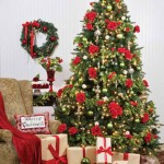 romantic_red_rose_christmas_tree