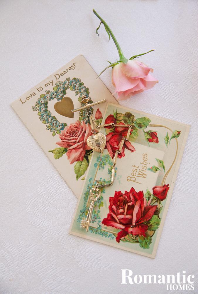 Vintage Valentines and ephemera