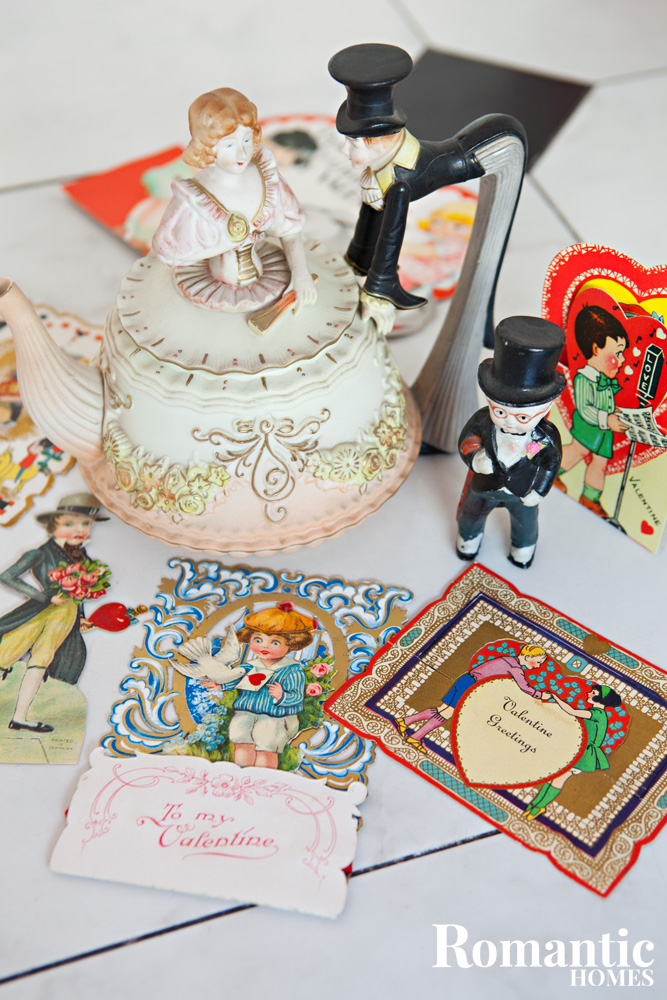 Valentines Day collectibles and ephemera