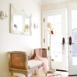 Foyer with French recamier chaise