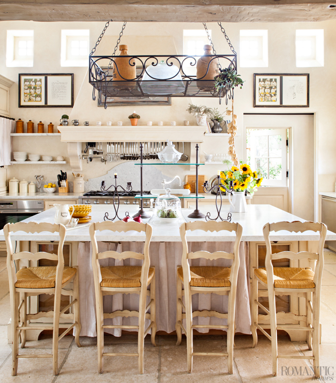 The Ultimate French Country Kitchen Romantic Homes