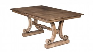 Amish Tables Peyton_Trestle