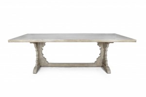 Belle Maison Francaise French Trestle Dining Table - Belle Maison