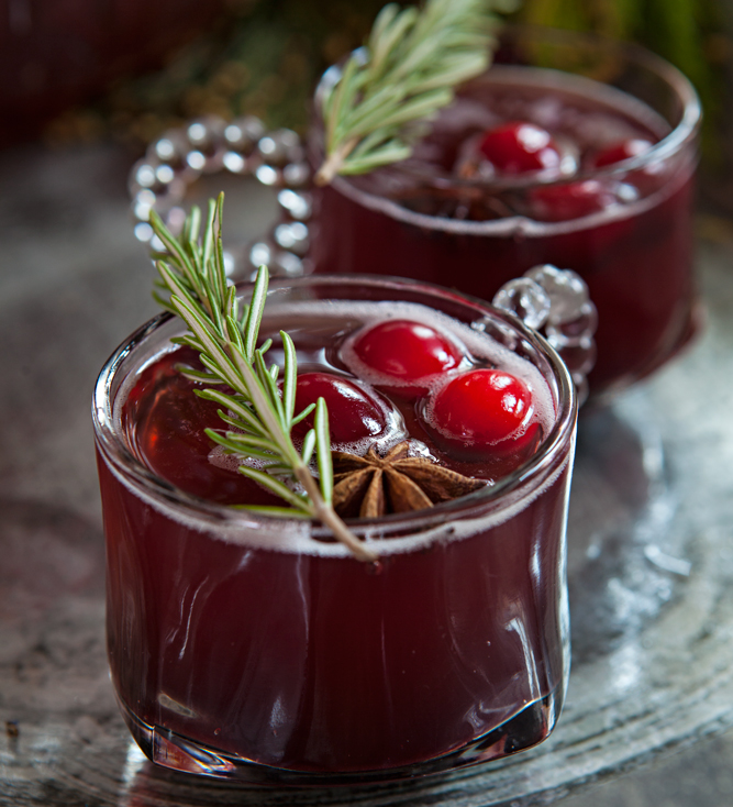 The holiday season is full of celebrations, this mulled cranberry spritzer recipe is a fun and festive drink that can be customized for all ages to enjoy!