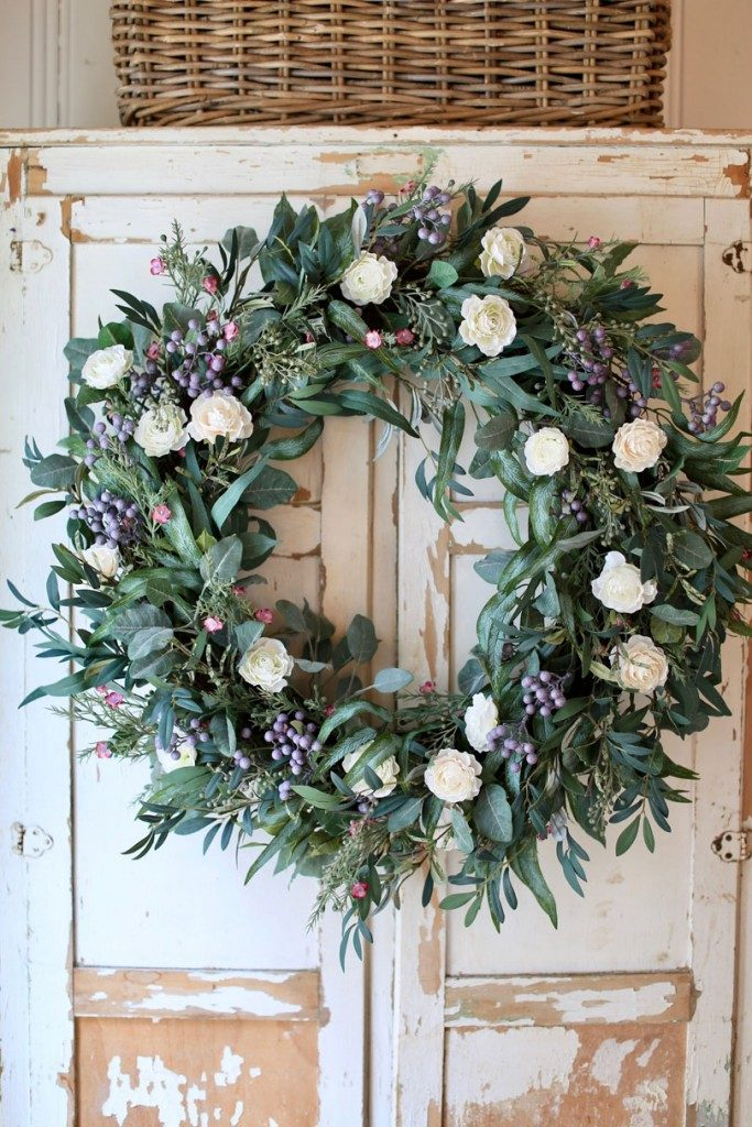 Courtney Allison's Marseille Meadow Wreath