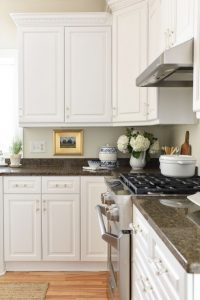 Miss Mustard Seed's Painted Kitchen Cabinets