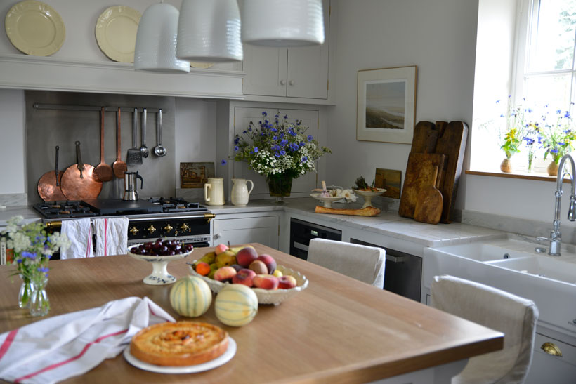Sharon Santoni's French kitchen