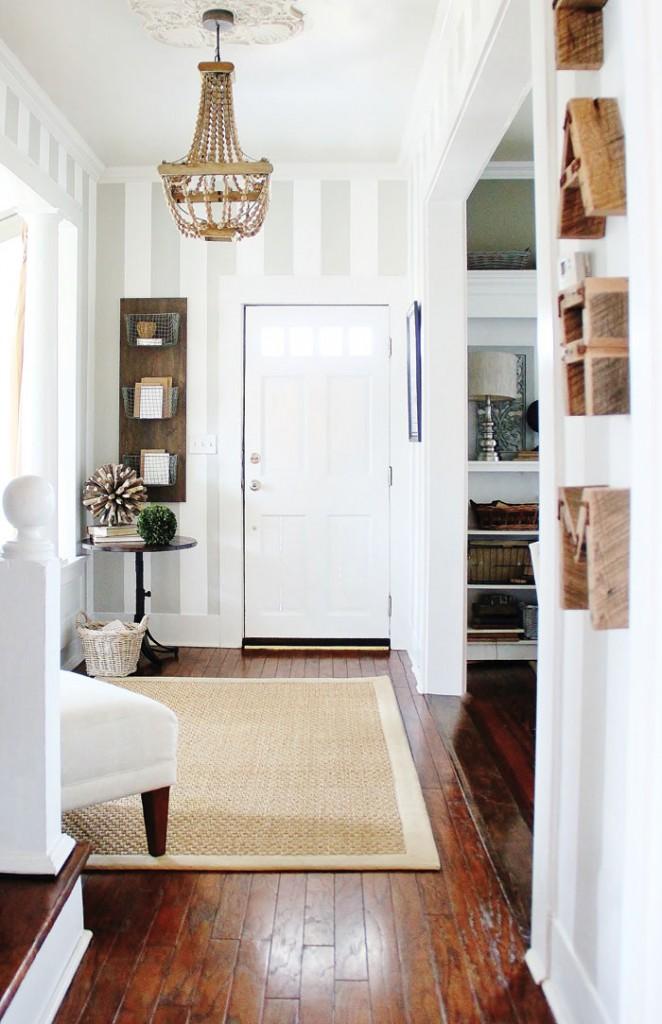 KariAnne Wood's entryway in The DIY Home Planner
