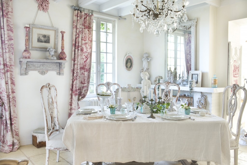 Shabby French Dining Room