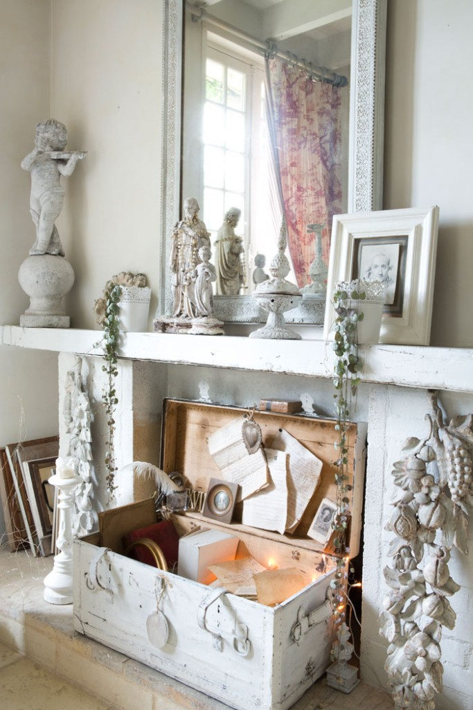 Shabby Vintage French Dining Room