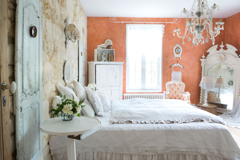 Vintage Shabby French Bedroom